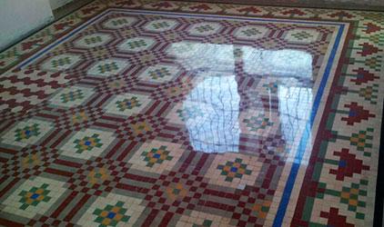 abrillantado de mosaico nolla